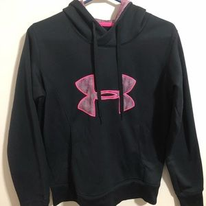 Under Armour Black Hoodie. Size S